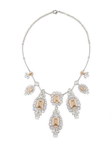 Atelier Swarovski Golden Shadow Necklace By Anna Dello Russo - Silver
