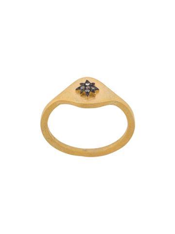 Eye M By Ileana Makri Eye Star Ring - Gold