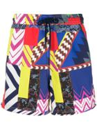 Etro Mixed Print Swimming Shorts - Multicolour