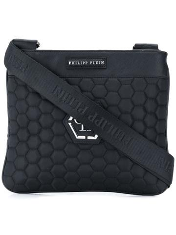 Philipp Plein Classic Messenger Bag - Black