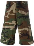 Carhartt Camouflage Print Cargo Shorts