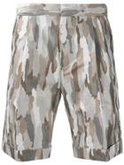 Cerruti 1881 Camouflage Print Shorts - Multicolour
