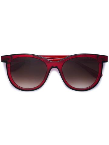 Thierry Lasry Vacancy Square Sunglasses - Red