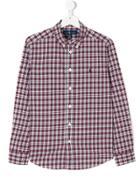 Ralph Lauren Kids Plaid Buttondown Shirt - Multicolour