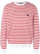Carhartt - Striped Sweatshirt - Men - Cotton/acrylic - Xl, Red, Cotton/acrylic