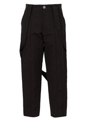 Aganovich Strap Detail Trousers