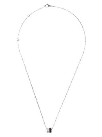 Boucheron Cylinder Pendant Necklace - Wg
