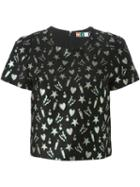 Msgm Embroidered Top