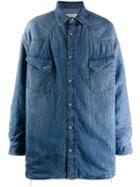 Maison Margiela Oversized Denim Shirt - Blue