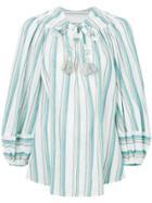 Zimmermann Striped Blouse - White