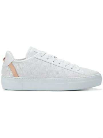 Fabi Logo Low-top Sneakers - White