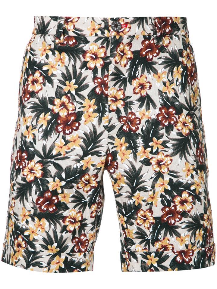 Loveless Floral Print Shorts - Multicolour