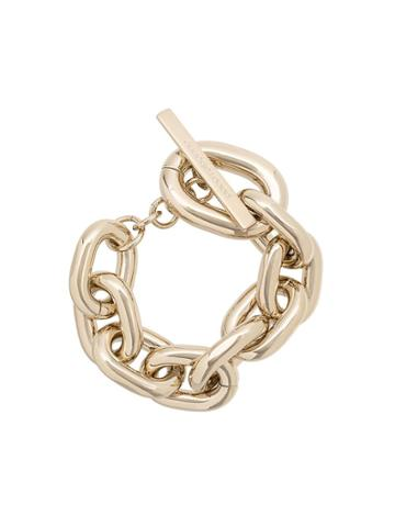 Paco Rabanne Thick Chain Bracelet - Gold