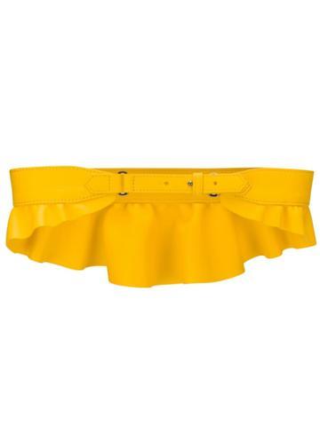 Max Mara Flutter Belt - Yellow