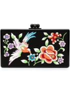 Edie Parker 'jean' Embroidered Panel Clutch