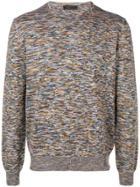 Prada Patterned Sweater - Blue