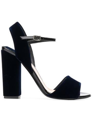 The Seller Classic High Sandals - Blue