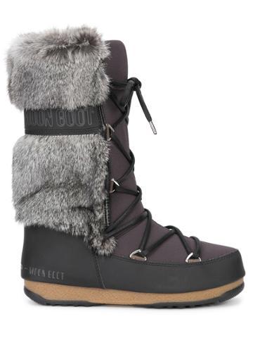 Moon Boot We Monaco Te Boots - Black