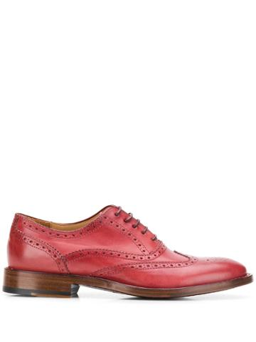Paul Smith Lace Up Brogues - Red