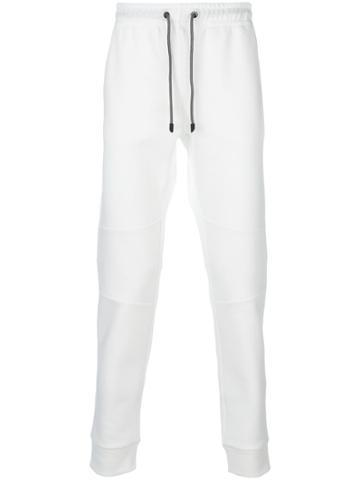 Fendi Faces Drawstring Sweatpants - White