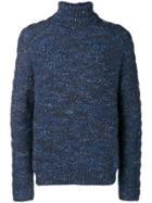 Jeckerson Turtleneck Sweater - Blue