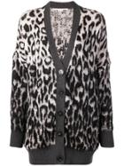 Stella Mccartney Leopard Print Cardigan - Nude & Neutrals