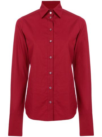 Romeo Gigli Vintage Slim Fit Shirt - Red