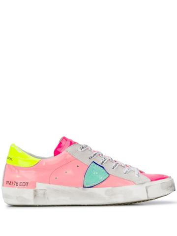 Philippe Model Paris X Sneakers - Pink