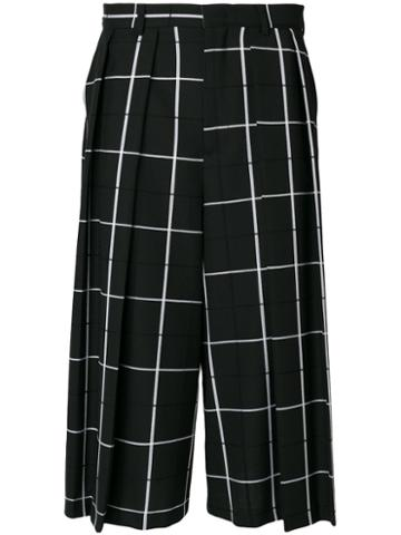 Mcq Alexander Mcqueen - Atami Quilted Shorts - Men - Cotton/polyester/wool - 50, Black, Cotton/polyester/wool