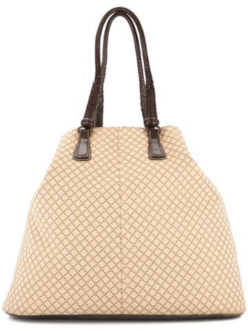 Gucci Vintage Gucci Jumbo Travel Shoulder Bag - Neutrals