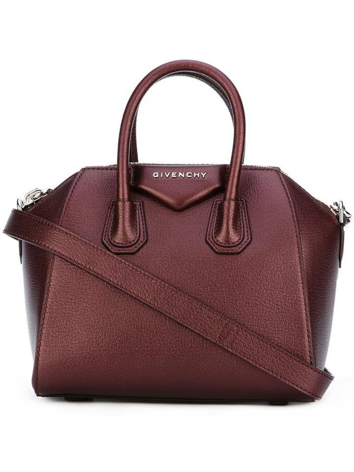 Givenchy Mini 'antigona' Tote, Women's, Red