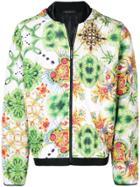 Versace Hooded Windbreaker - Multicolour