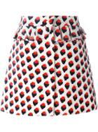 Victoria Victoria Beckham 'plush Jacquard' Skirt