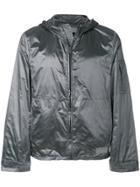 Prada Hooded Wind Breaker Jacket - Grey