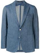 Tagliatore Smart Blazer - Blue