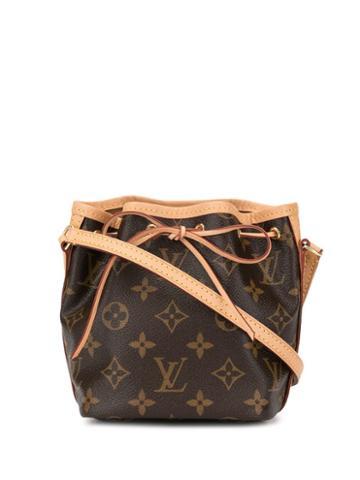 Louis Vuitton Pre-owned Nano Noe Drawstring Shoulder Bag - Brown