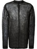 Rick Owens Mesh Sweater