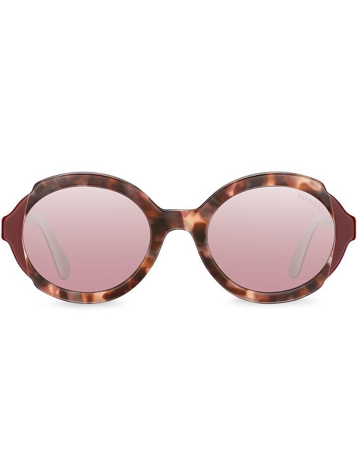 Prada Eyewear Prada Eyewear Collection Sunglasses - Red