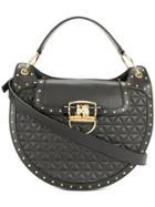 Balmain Quilted Shoulder Bag - Black