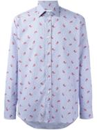 Etro Polka Dots Pattern Shirt - Blue