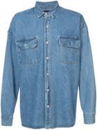 Fear Of God Oversized Denim Shirt - Blue