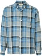Fake Alpha Vintage 1960s Checked Shirt - Blue