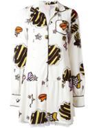 Giamba Icon Print Shirt Dress