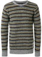 Howlin' Striped Sweater - Green