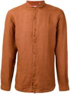 Costumein - Longsleeve Shirt - Men - Cotton - 52, Yellow/orange, Cotton
