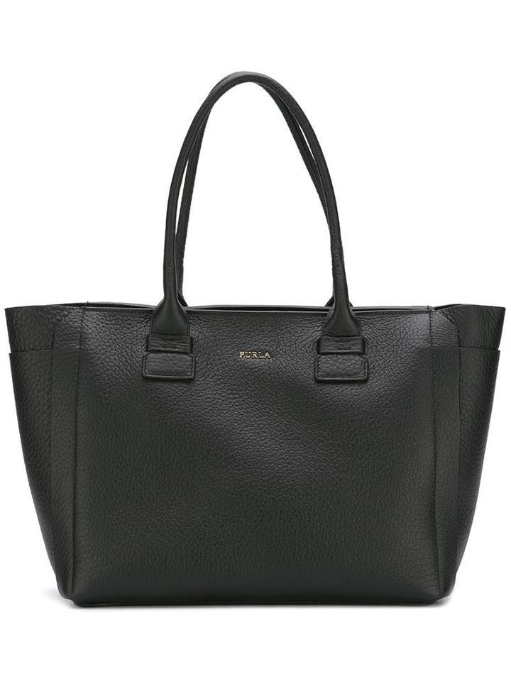Furla 'capriccio' Tote, Women's, Black, Leather