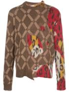 Marni Roundneck Sweater - Brown