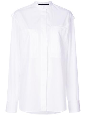 Haider Ackermann - Loose Shape Shirt - Women - Cotton - 36, White, Cotton