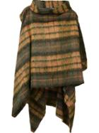Vivienne Westwood Checked Cape, Women's, Green, Acrylic/polyamide/polyester/alpaca
