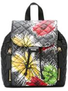 Boutique Moschino Floral Print Backpack